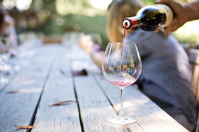 Et glass rødvin er bra for helsen!